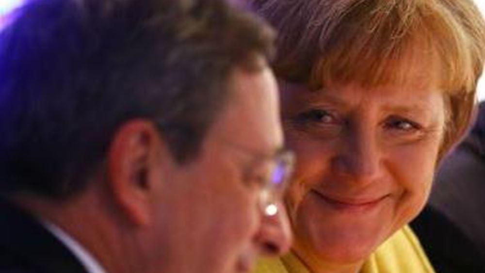 Η ευκαιρία του Ντράγκι για συνεργασία με τη Γερμανία