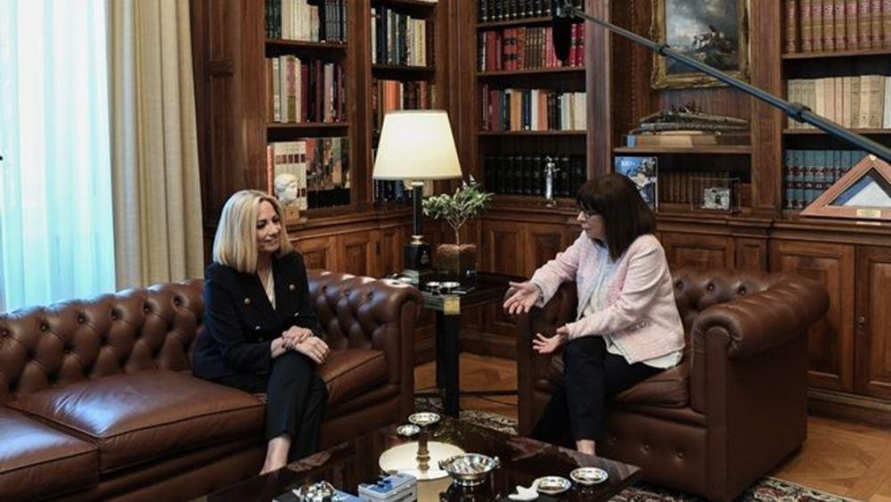 Κ. Σακελλαροπούλου: H Φ. Γεννηματά είναι μαχήτρια και το έχει αποδείξει