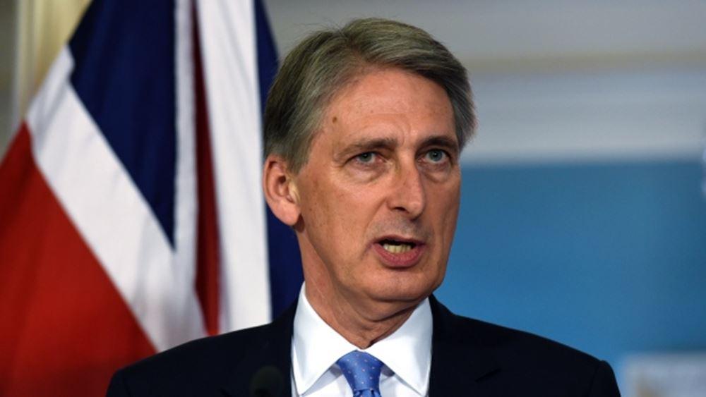 Βρετανία: Παραιτείται ο ΥΠΟΙΚ Χάμοντ λόγω Μπ.Τζόνσον