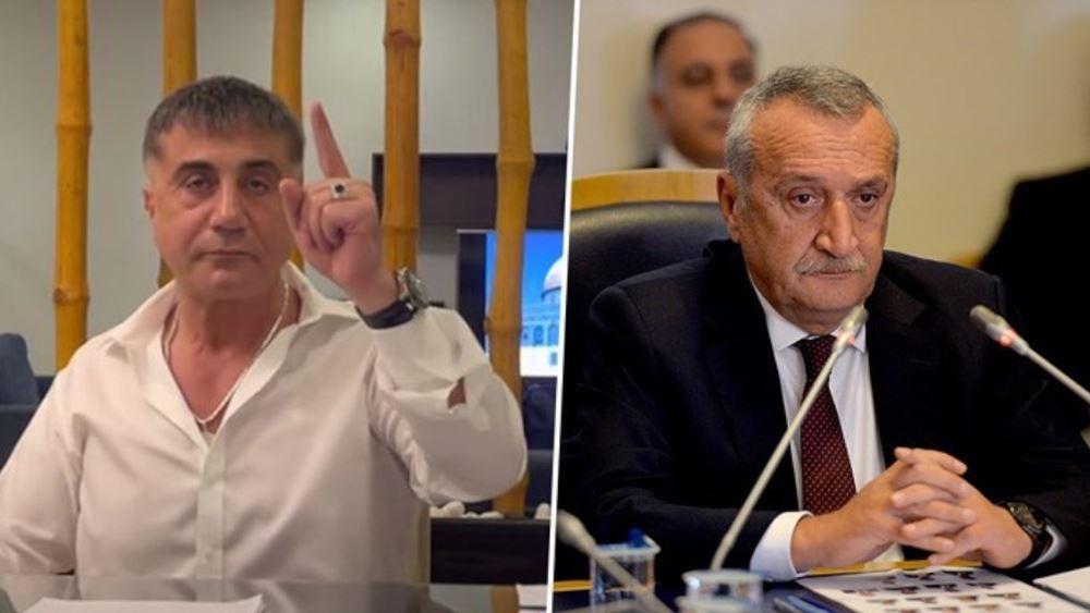 Ξανά σε δίκη για δολοφονίες ο πρώην ΥΠΕΣ της Τουρκίας μετά τις αποκαλύψεις του Τούρκου αρχιμαφιόζου