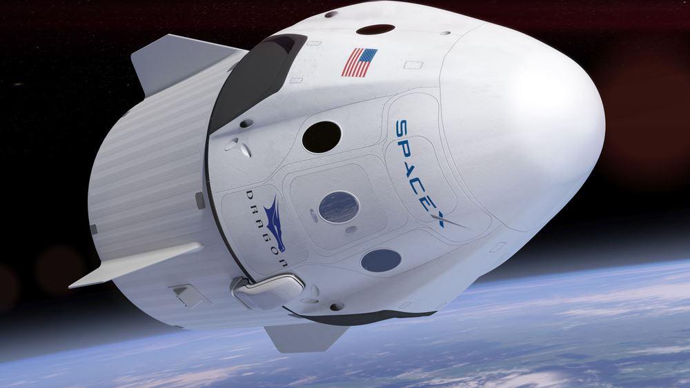 """Το Crew Dragon των Space X-NASA """"έδεσε"""" στον Διεθνή Διαστημικό Σταθμό"""