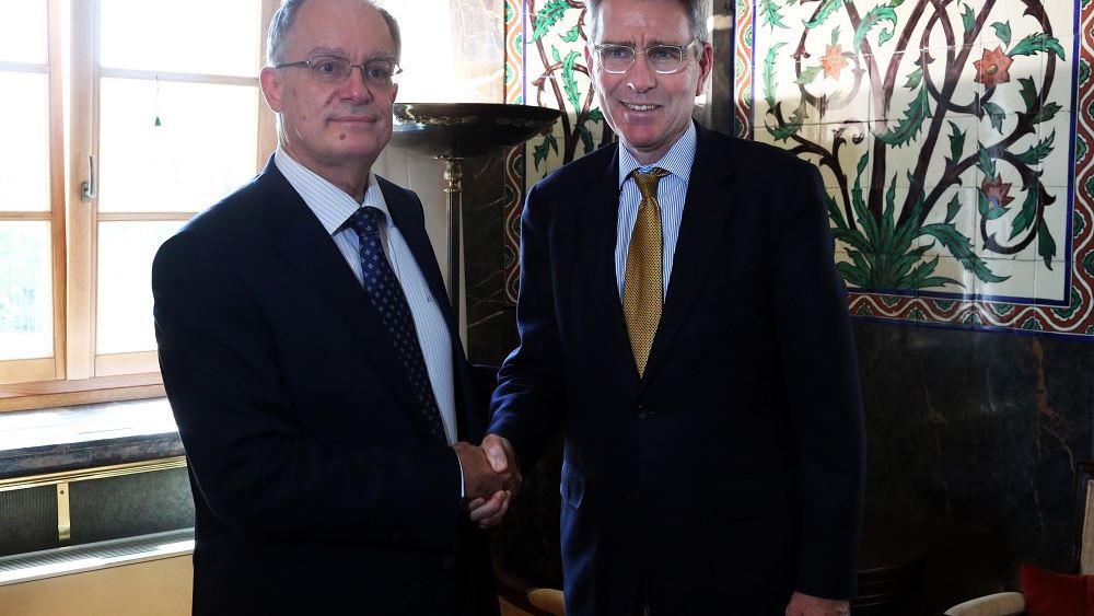 Συνάντηση του Προέδρου της Βουλής Κ. Τασούλα με τον Πρέσβη των ΗΠΑ Τζ. Πάιατ