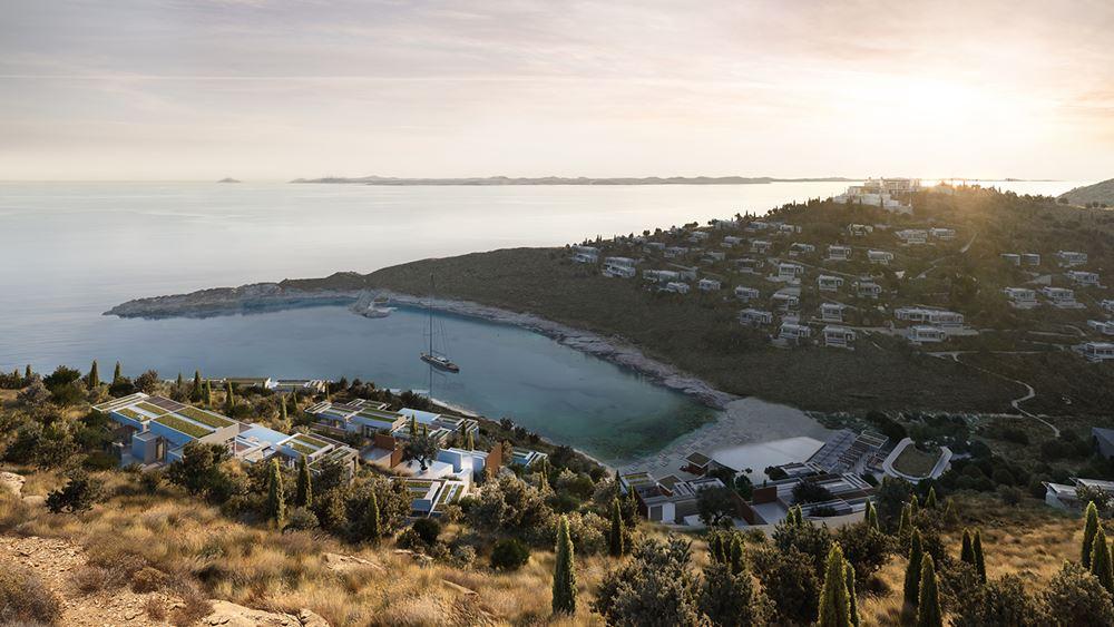 Το θέρετρο One & Only Kea Island κατασκευάζει η Redex