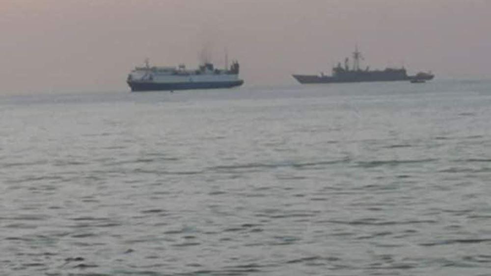 Πλοίο συνοδεία τουρκικής φρεγάτας έφερε άρματα στη Λιβύη: Βίντεο-ντοκουμέντο μέσα από το πλοίο