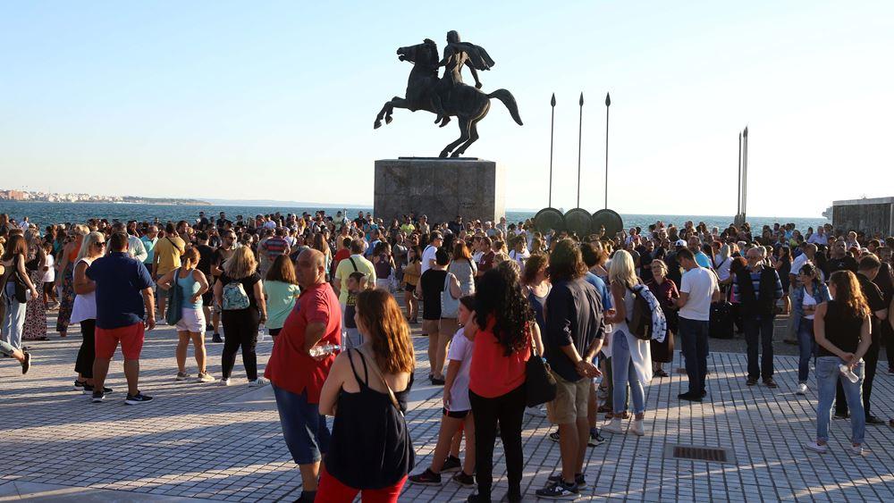 Συγκεντρώσεις κατά της μάσκας στα σχολεία σε Αθήνα και Θεσσαλονίκη