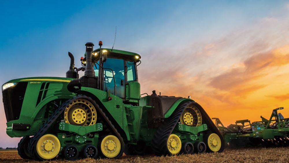 Deere & Co: Ενισχύεται 3,5% η μετοχή στις προσυνεδριακές συναλλαγές