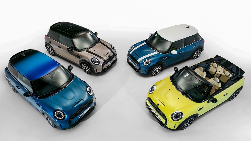 H ΜΙΝΙ ανανεώνει τις 3θυρες, 5θυρες και Cabrio εκδόσεις της γκάμας