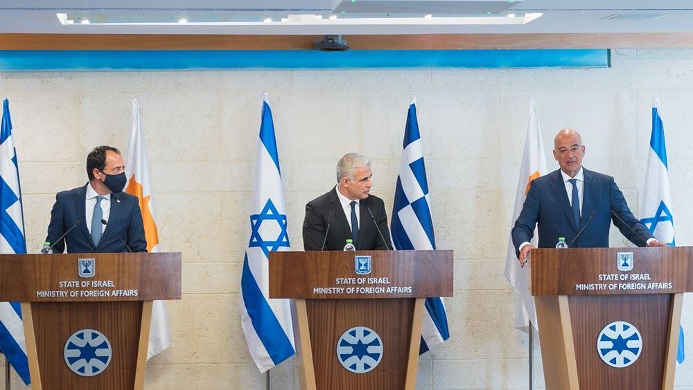 Τριμερής Ισραήλ, Κύπρου, Ελλάδας 22.08.2021