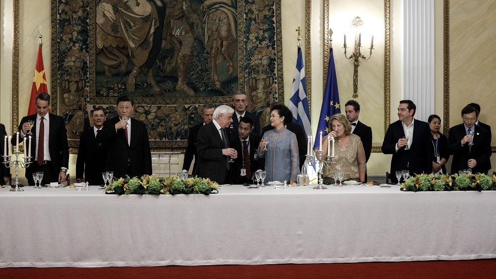 """Παυλόπουλος: """"Κίνα και Ελλάδα ξεκινούν μια νέα πορεία συμπόρευσης και συνδημιουργίας"""""""