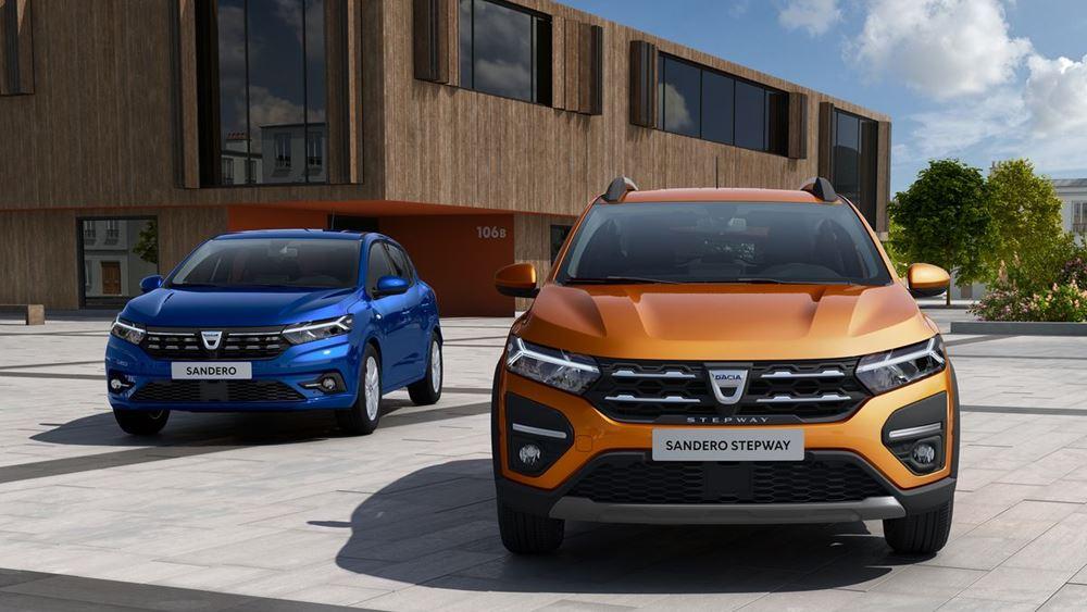 Πρωτιά στην Ευρώπη για το Dacia Sandero