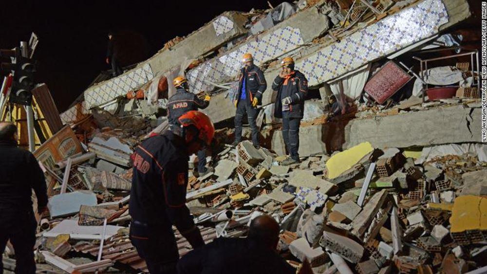 Τουρκία: Στους 29 οι νεκροί του σεισμού