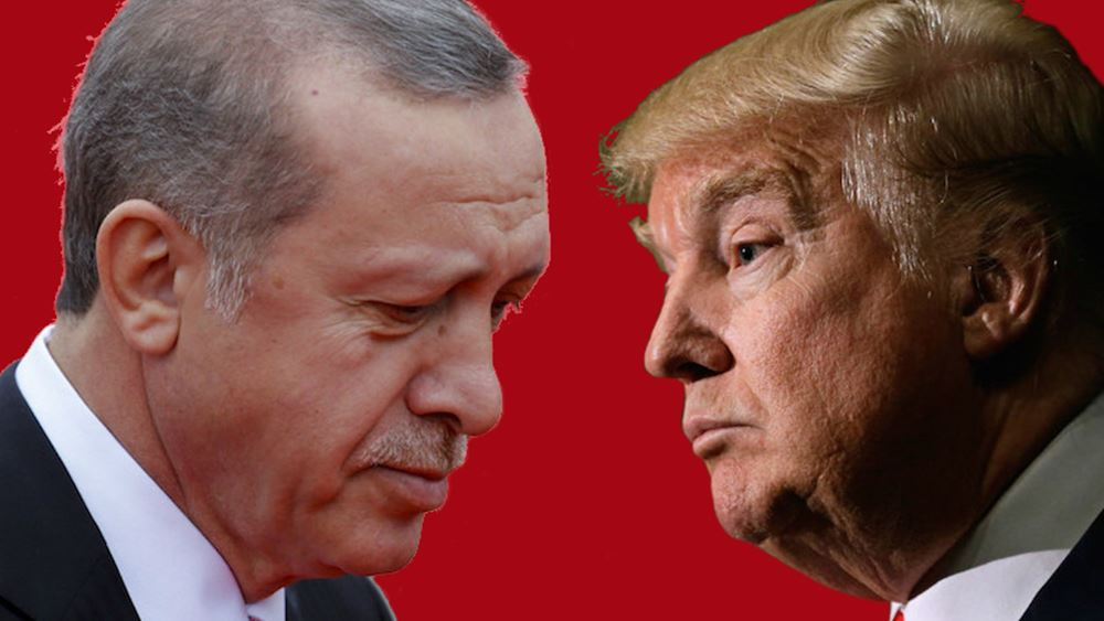 Ερντογάν και Τραμπ συμφώνησαν να αποφευχθεί το ενδεχόμενο ενός κενού εξουσίας στη Συρία