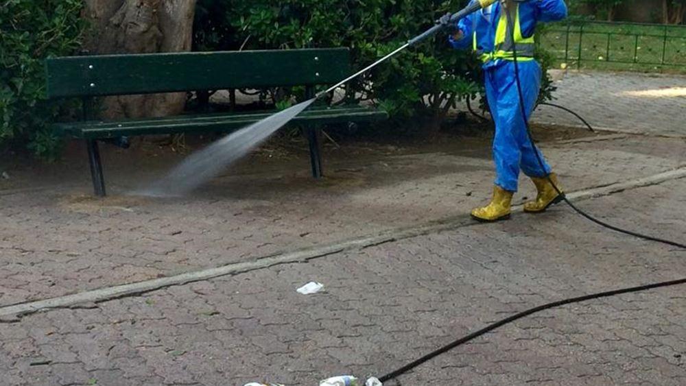 Δήμος Αθηναίων: Στην περιοχή των Πατησίων η κυριακάτικη δράση καθαριότητας