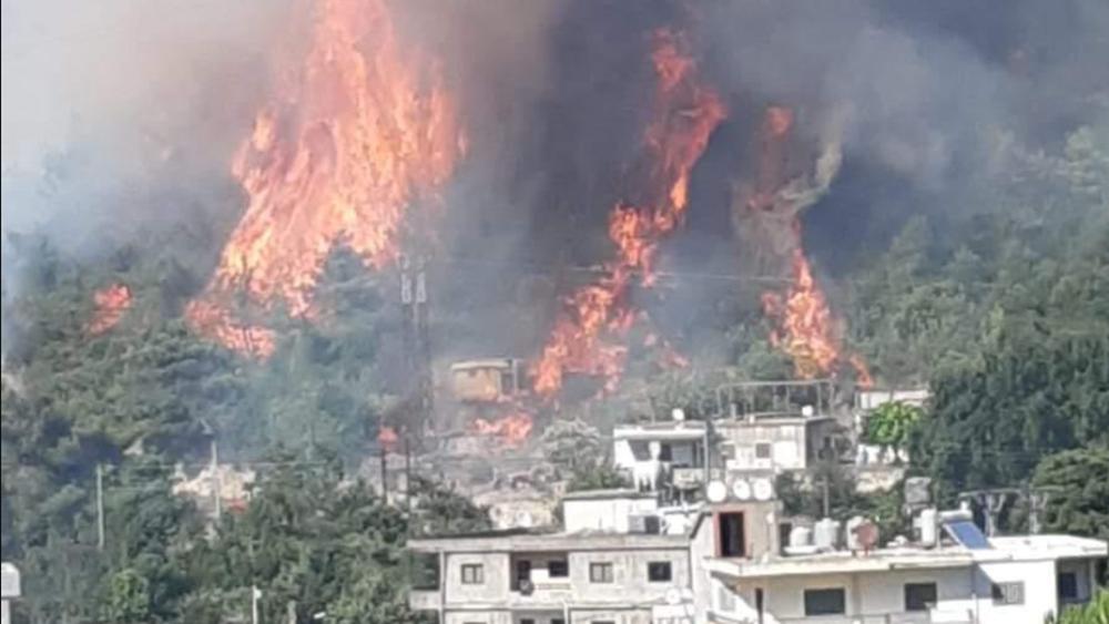 Λίβανος: Καταστροφικές πυρκαγιές στο βόρειο τμήμα της χώρας, ένας πυροσβέστης νεκρός