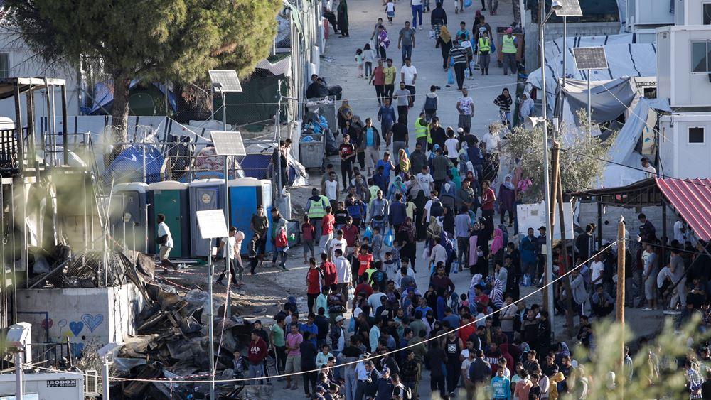 Μυτιλήνη: Μικροεπεισόδια έξω από τη Μόρια