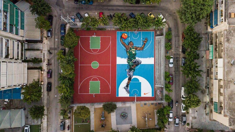Δήμος Αθηναίων: Μεταμορφώνονται τα Γήπεδα Μπάσκετ των Σεπολίων προς τιμήν του Γιάννη Αντετοκούνμπο