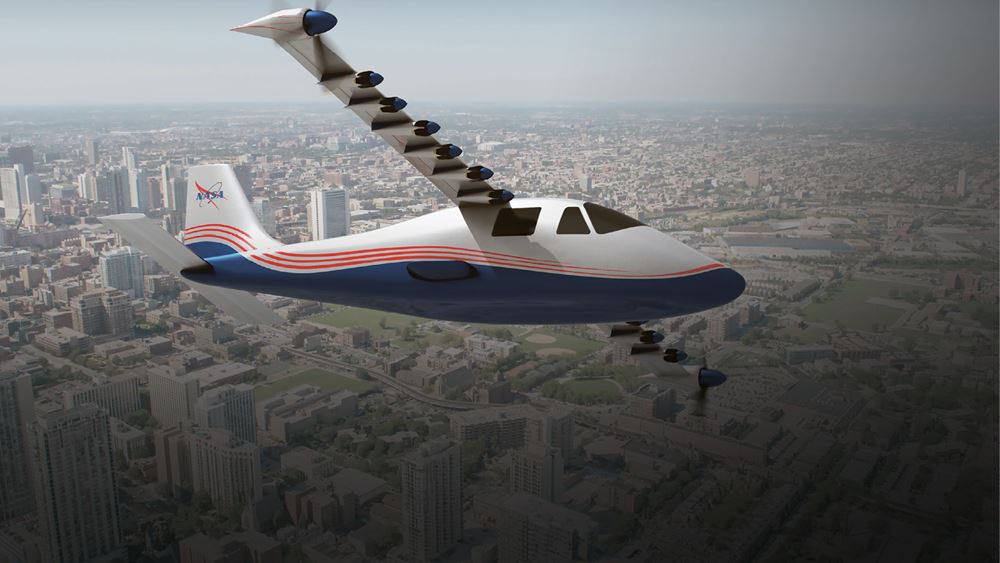 NASA: Παρουσίασε το πρώτο ηλεκτρικό αεροπλάνο της