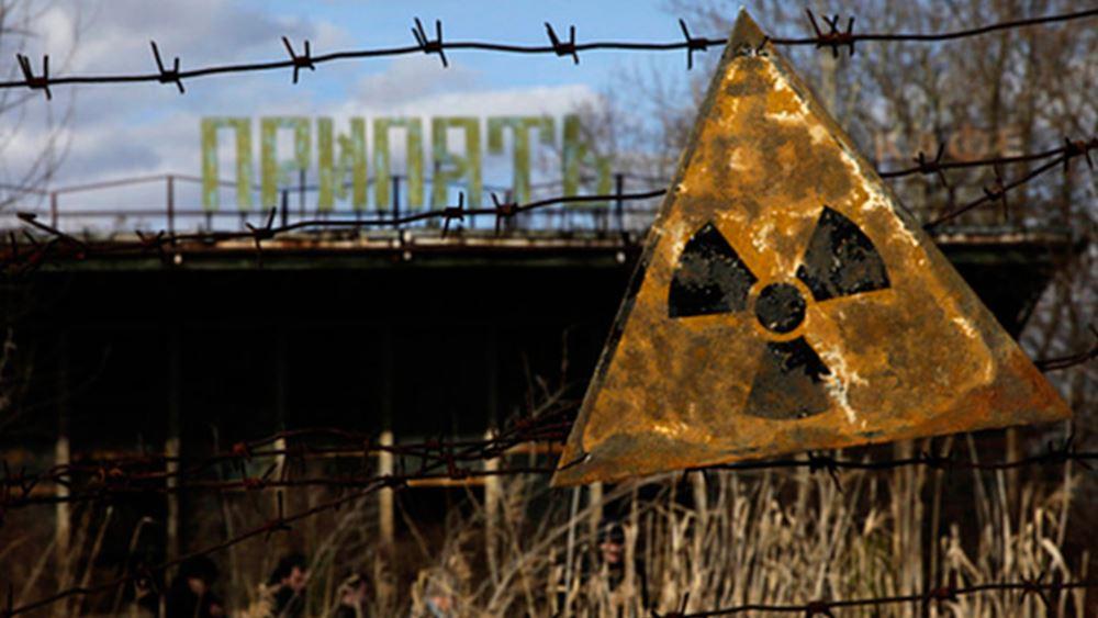 Ουκρανία: Κατασβέστηκε η πυργκαγιά κοντά στο πρώην πυρηνικό εργοστάσιο του Τσερνόμπιλ