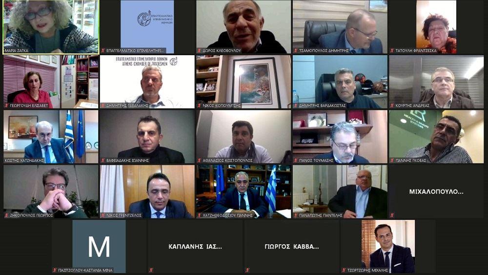 Κ. Χατζηδάκης στο ΕΕΑ: Πρόθεση της κυβέρνησης η στήριξη της επιχειρηματικότητας, επαγγελματιών και εργαζομένων