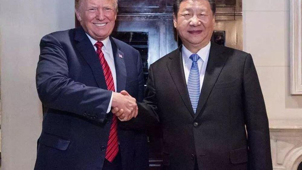 """Τραμπ: Θα ξεκινήσει άμεσα η διαπραγμάτευση για τη """"Δεύτερη Φάση"""" της συμφωνίας με την Κίνα"""