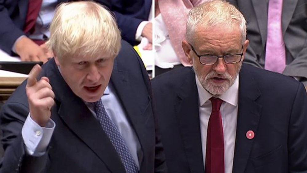Βρετανία: Αντιμέτωποι σήμερα σε πρώτο τηλεοπτικό ντιμπέιτ οι Μπ. Τζόνσον - Τζ. Κόρμπιν