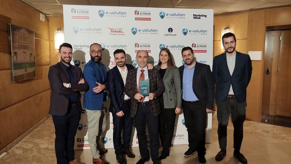 Νέο βραβείο για την Plushost.gr στα e-volution Awards για το Pandorashop.gr