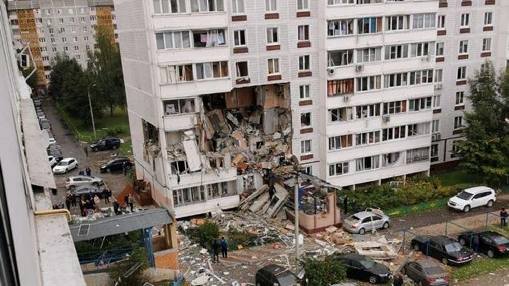 Ρωσία: Δύο νεκροί από έκρηξη φυσικού αερίου σε κτίριο κατοικιών στο Νογκίνσκ