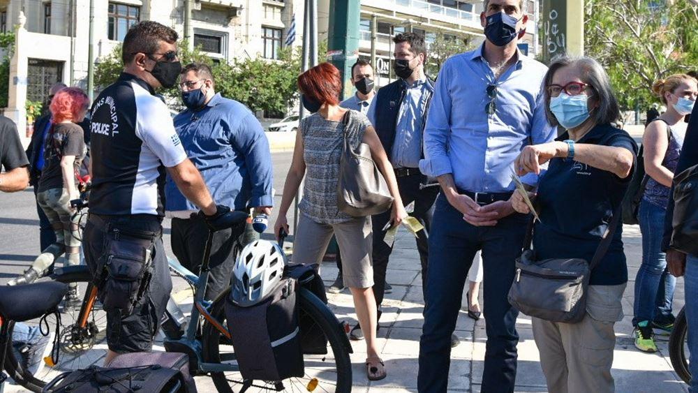 """Δήμος Αθηναίων: """"Κέντρο Ποδηλάτου"""" στην καρδιά της πόλης"""