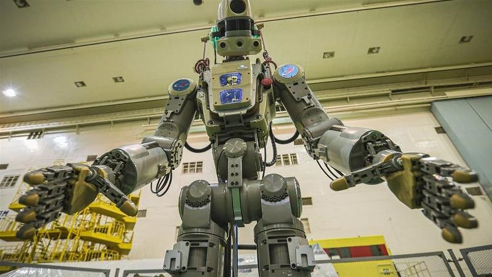 Το πρώτο ανθρωποειδές ρωσικό ρομπότ (Φιόντορ) έφτασε στον Διεθνή Διαστημικό Σταθμό