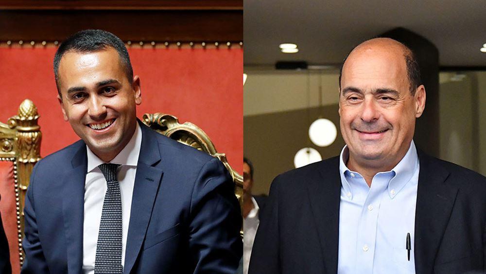 Ιταλία: Τα μέλη των Πέντε Αστέρων ενέκριναν την κυβερνητική συμμαχία με το Δημοκρατικό Κόμμα