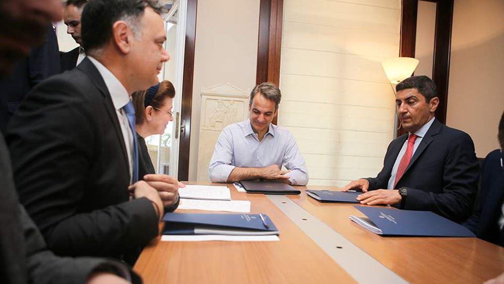 Κ. Μητσοτάκης: Βλέπουμε το Πολιτισμού ως ένα αναπτυξιακό Υπουργείο