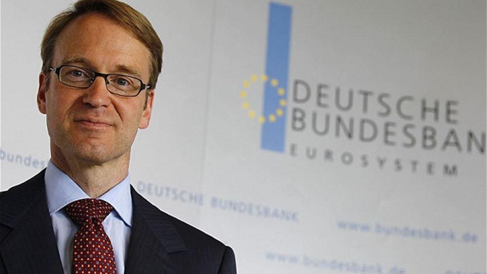 Weidmann: Η ΕΚΤ δεν πρέπει να καθυστερήσει την απόσυρση των έκτακτων μέτρων στήριξης