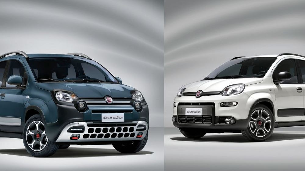 To νέο Fiat Panda σε έκδοση φυσικό αερίου