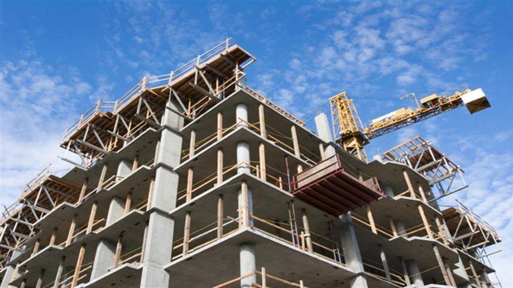 ΕΛΣΤΑΤ: Αυξήθηκαν κατά 27,0% οι οικοδομικές άδειες τον Αύγουστο
