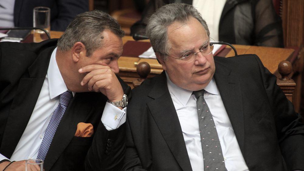 Κοτζιάς για Καμμένο: Όποιος θέλει, ας φέρει πρόταση στη Βουλή να πέσει η κυβέρνηση
