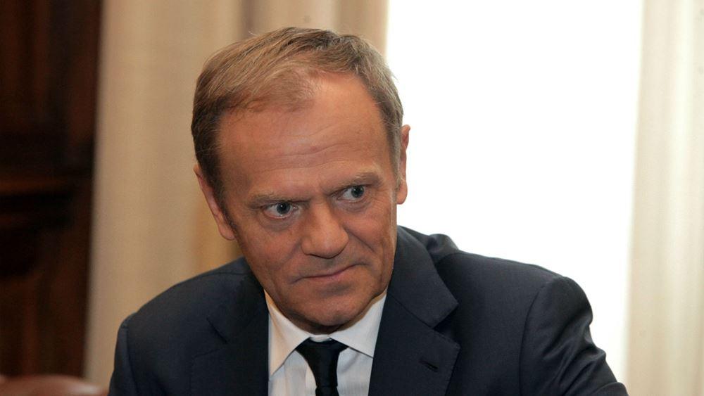 Τουσκ: Στο 20%-30% οι πιθανότητες παραμονής της Βρετανίας στην ΕΕ
