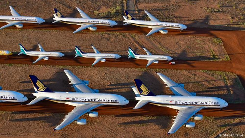 DW: Πού πάνε τα αεροπλάνα που δεν πετάνε;