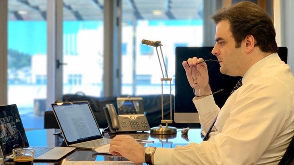 Συνεργασία Ελλάδας - ΗΑΕ στον τομέα του ψηφιακού μετασχηματισμού