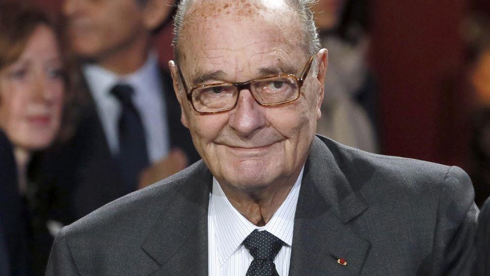Γαλλία: Απεβίωσε ο πρώην πρόεδρος της χώρας Ζακ Σιράκ