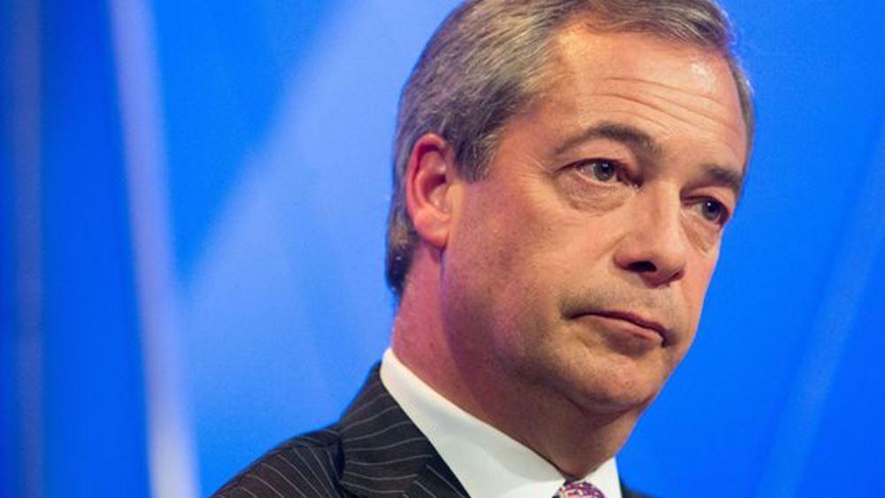 Φάρατζ: Θέλουμε να αποτελούμε μέρος της διαπραγματευτικής ομάδας για το Brexit