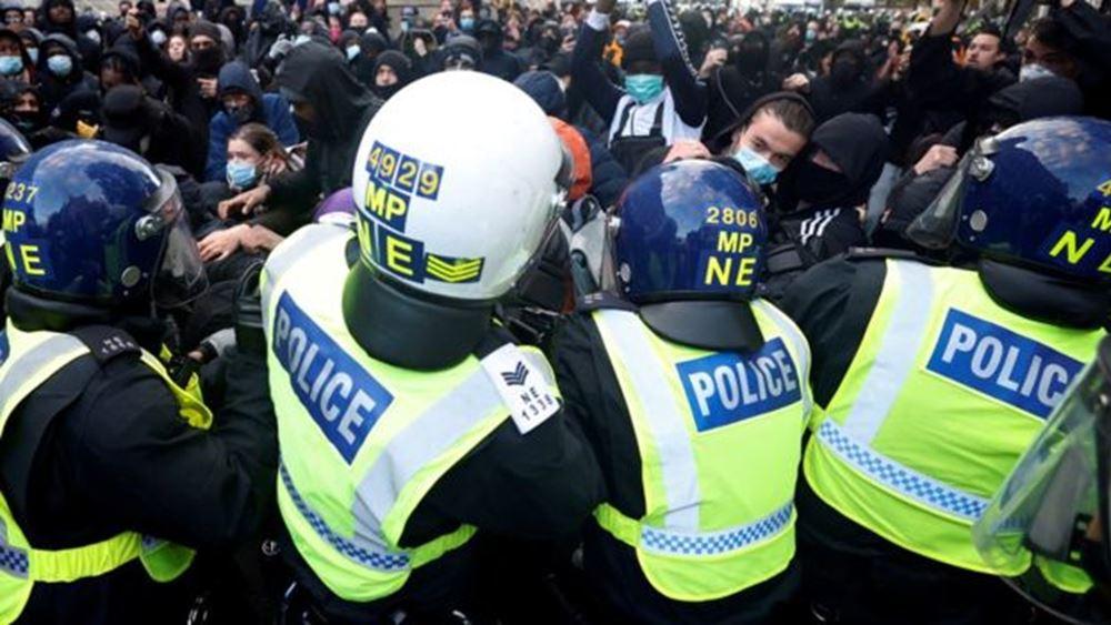 Λονδίνο: Φόβοι για καταστροφές και συγκρούσεις στη διάρκεια των διαδηλώσεων