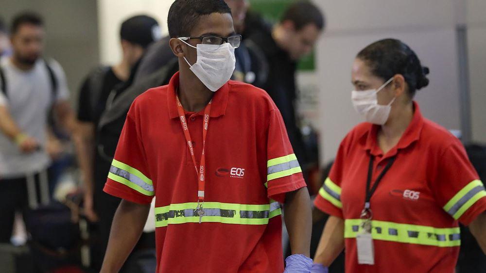 Βραζιλία: 904 θάνατοι από κορονοϊό το τελευταίο 24ωρο