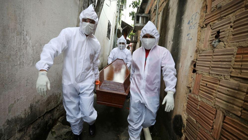 Βραζιλία: Πάνω από 66.500 θάνατοι εξαιτίας του κορονοϊού τον Μάρτιο