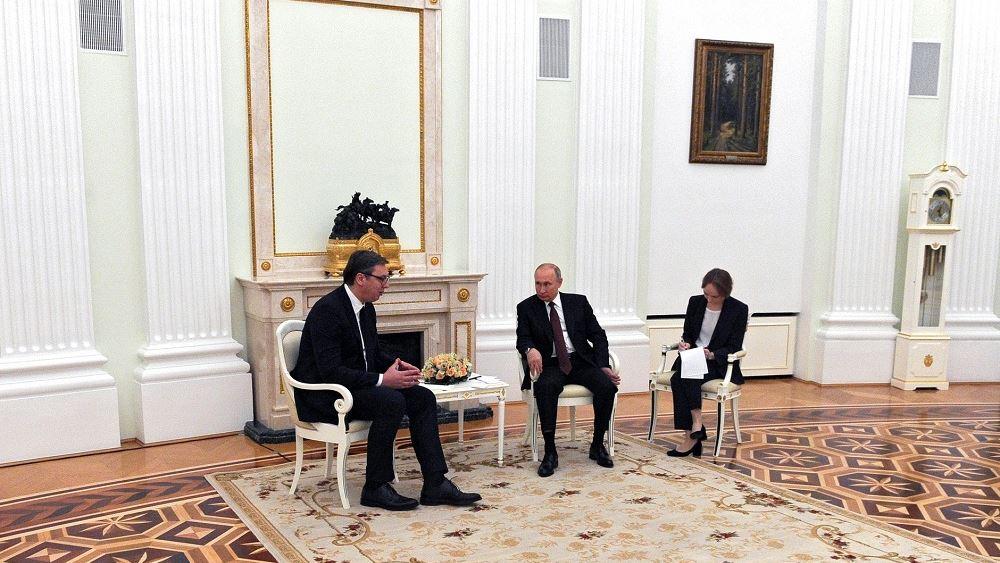 Επικοινωνία Αλεξάνταρ Βούτσιτς–Βλαντιμίρ Πούτιν