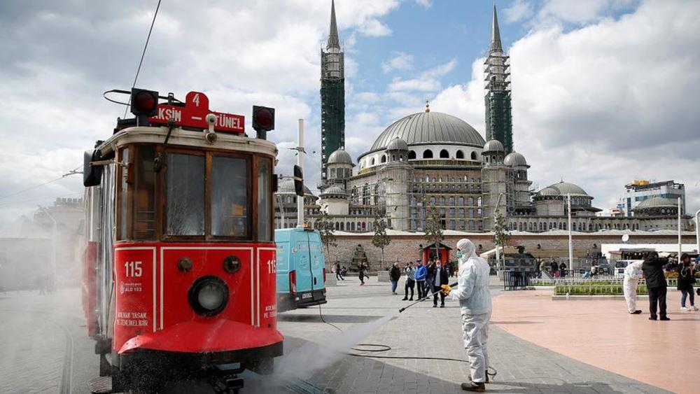 Τουρκία: 42.551 νέα κρούσματα κορονοϊού το τελευταίο 24ωρο