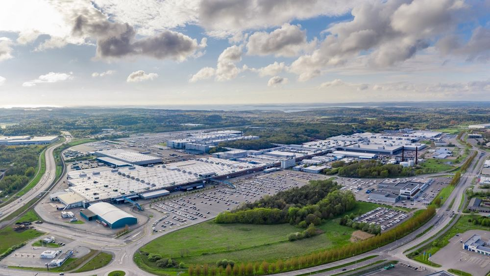 H πρώτη κλιματικά ουδέτερη μονάδα παραγωγής αυτοκινήτων της Volvo
