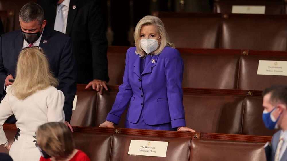 ΗΠΑ: Αύριο η ψηφοφορία για την απομάκρυνση της Λιζ Τσέινι από την προεδρία της κοινοβουλευτικής ομάδας των Ρεπουμπλικάνων