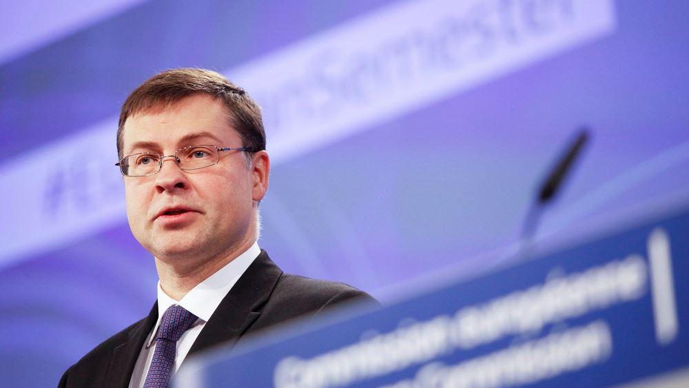 Ντομπρόβσκις: Χαιρετίζουμε τη γαλλογερμανική πρωτοβουλία, στην πρόταση της Κομισιόν η αναλογία δανείων - επιχορηγήσεων