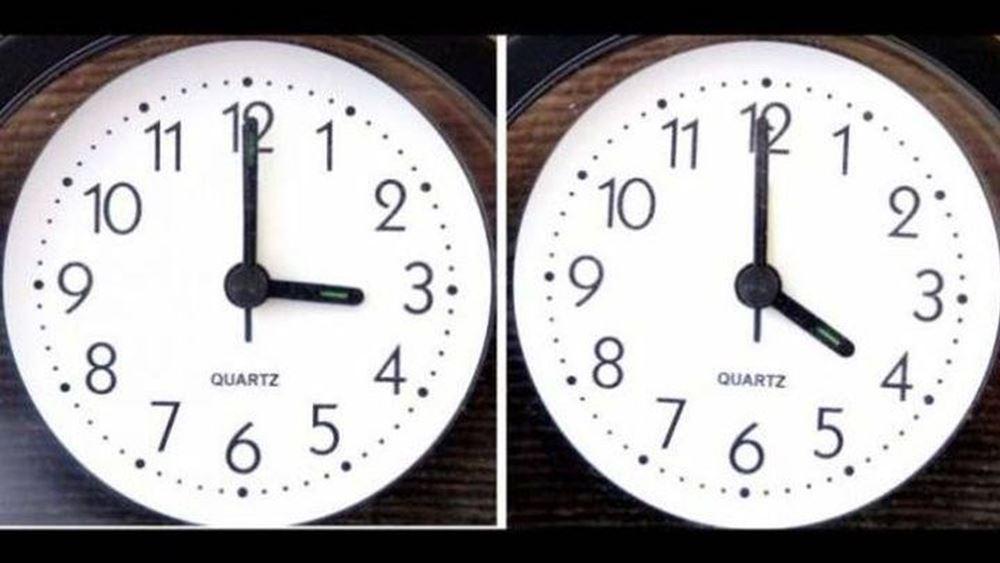 Αλλάζει η ώρα την Κυριακή 28 Μαρτίου - Μια ώρα μπροστά οι δείκτες των ρολογιών