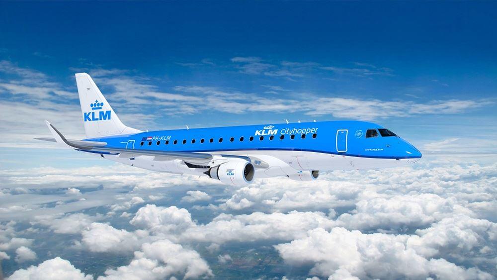 Η ολλανδική αεροπορική KLM θα απολύσει ακόμα 1.000 άτομα